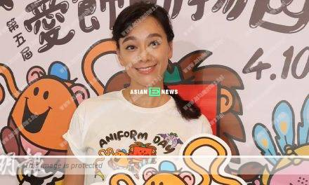 Sharon Kwok praised her son's girlfriend was good