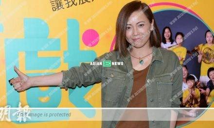 Sheren Tang claimed her acting skills was poor and dared not perform with the children