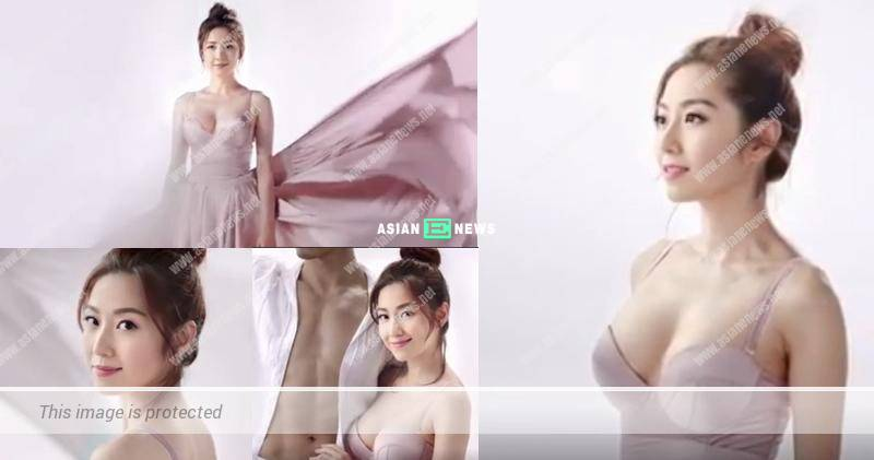 Yoyo Chen filmed breast enhancement advertisement and won compliments