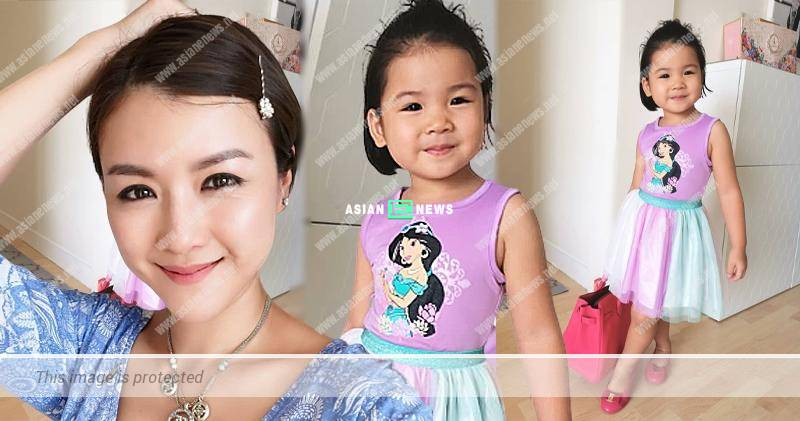 Aimee Chan's daughter, Camilla steals her branded bag?