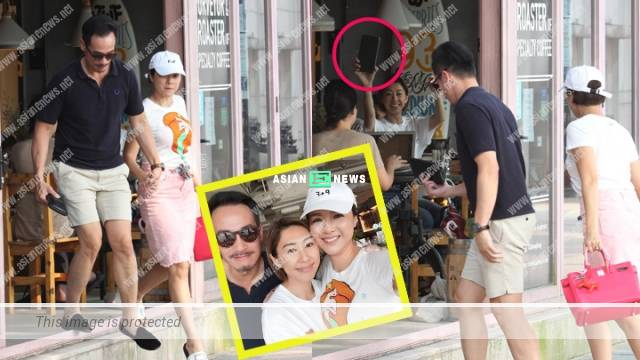 Moses Chan and Aimee Chan bumped into Nancy Wu while spending two person world