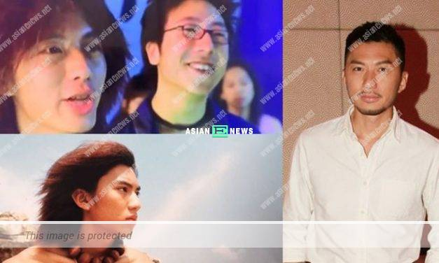 Benjamin Yuen proved he had lots of hair 20 years ago
