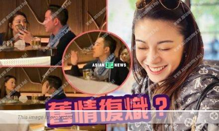 Bernice Liu and her old love, Calvin Lo discussed about Hong Kong Protests in the public