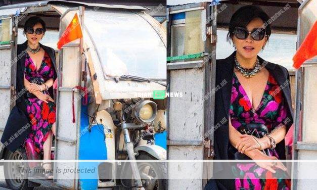 Cab driver failed to recognise Carina Lau in Suzhou