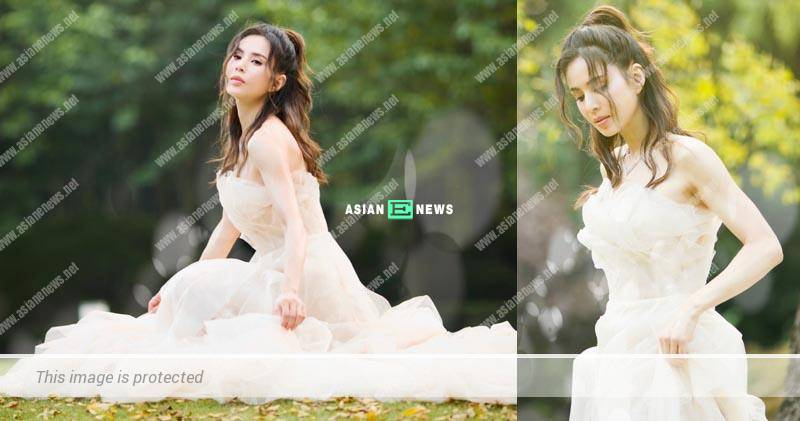 Filial Carman Lee took wedding photos to grant her mother's wish