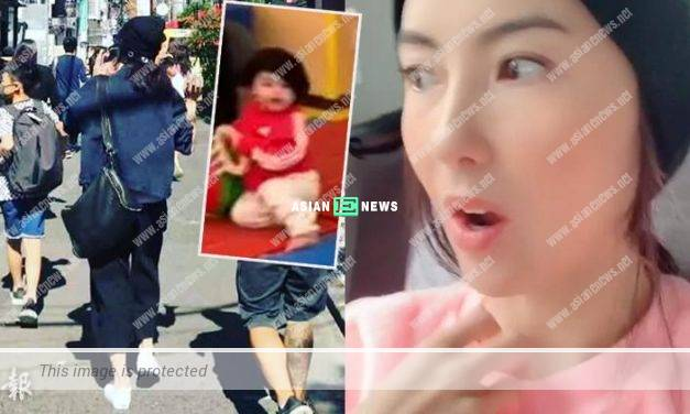 Cecilia Cheung accidentally revealed the appearance of her third son, Marcus