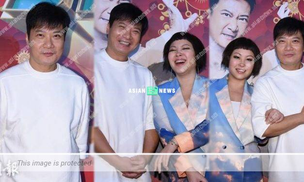 Harriet Yeung is waiting to take away Chin Ka Lok's on-screen kiss