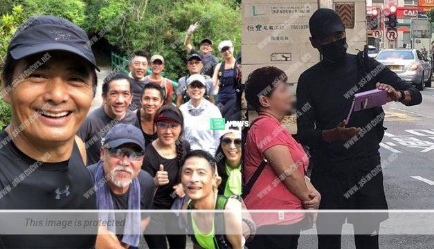 Korea media pointed Superstar Chow Yun Fat supported Hong Kong Protests