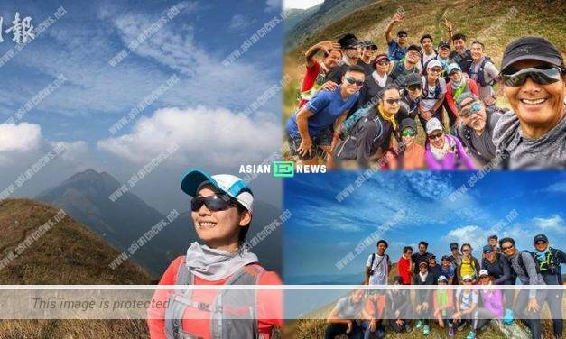 Chow Yun Fat and Elena Kong go for hiking again
