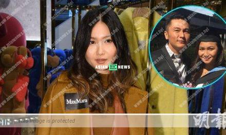 Eddie Kwan's daughter, Fabienne Kwan wishes to join show business