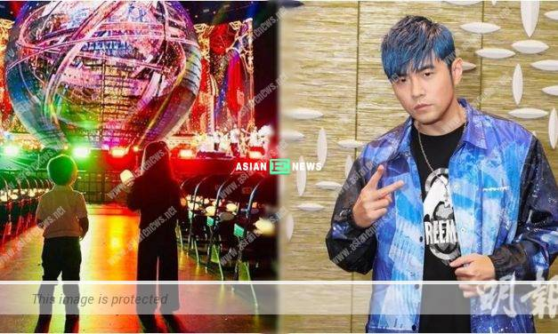 Jay Chou held an exclusive concert for his children