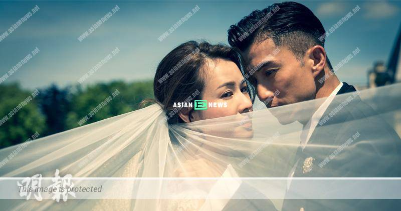 Joel Chan and his girlfriend, Apple took a wedding photo shoot in France