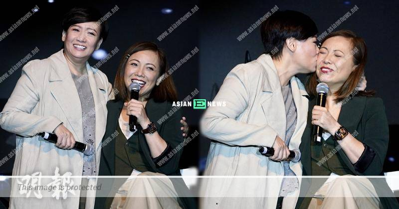 Kiki Sheung and Sheren Tang had conflicts in 2009? She gave a kiss on her cheek