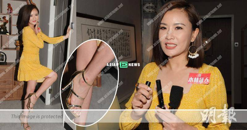 Pinky Cheung is injured after shooting chasing after vehicle scene