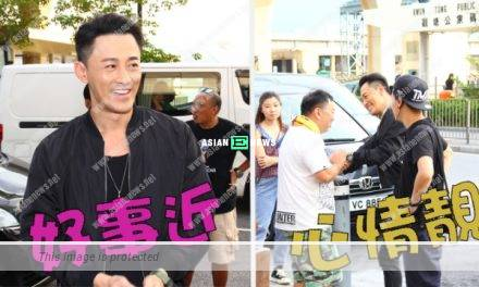 Raymond Lam rejected to reveal about his wedding preparation