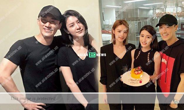 Raymond Lam and Carina Zhang viewed luxurious apartment together
