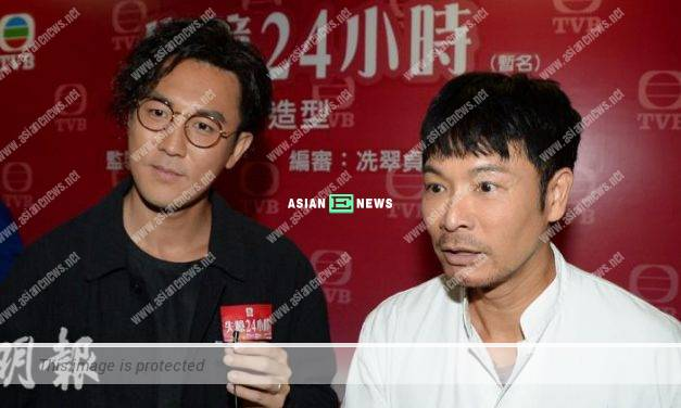Shaun Tam told Roger Kwok to touch him in TVB new drama
