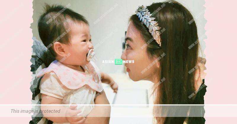 Tracy Chu makes the baby cry because of her big eyes?