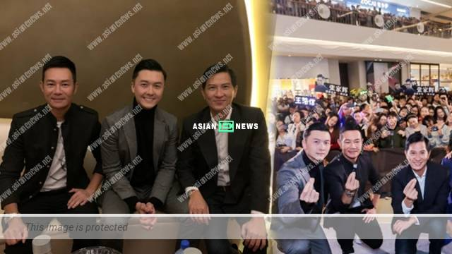 Vincent Wong transforms into a little fan upon seeing Nick Cheung