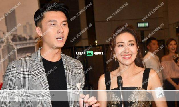 Vincent Wong did not report to his wife, Yoyo Chen about his kissing scenes