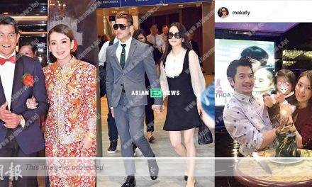 Aaron Kwok is giving $1,000,000 to Moka Fang if she is expecting a baby boy?