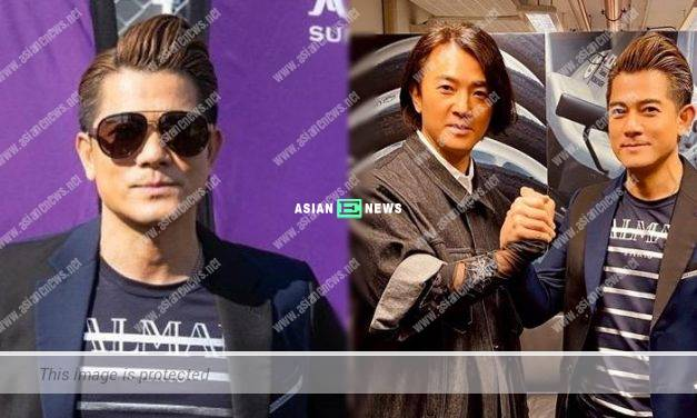 Aaron Kwok hoped to participate in car racing competition next year