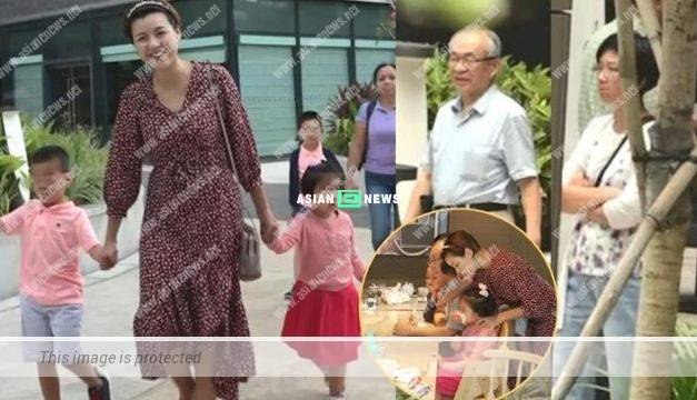 Aimee Chan took her family to Disneyland