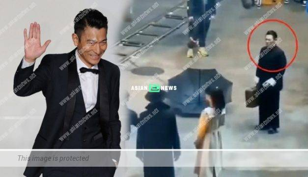 Chinese actor behaves arrogantly in front of Andy Lau?
