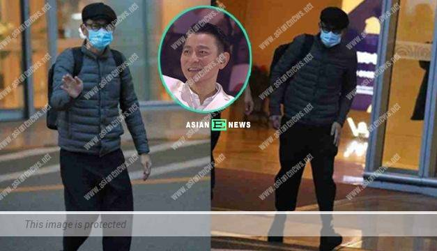 Andy Lau appeared alone in Beijing without any security guards