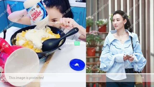 Cecilia Cheung prepared a house party after pledging her loyalty