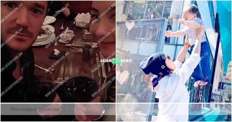 Cecilia Cheung and a foreign man drank wine together; Is he Marcus Cheung's father?