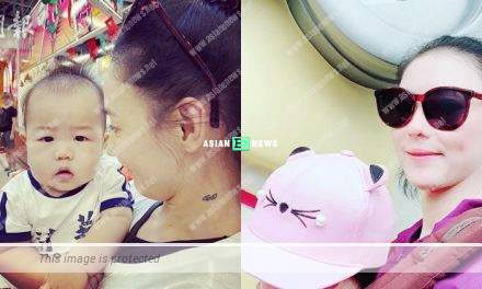 Is Cecilia Cheung revealing her son, Marcus's appearance?