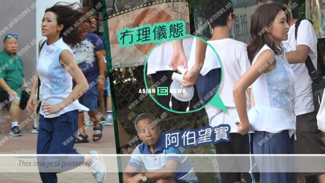 Running with Big Steps drama: Elaine Yiu ran with two inches thick shoes