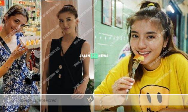 Karena Ng gains weight and enjoys delicious food in Thailand