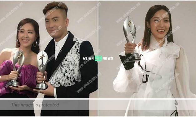 StarHub TVB Awards: Kenneth Ma and Natalie Tong became TV King and TV Queen