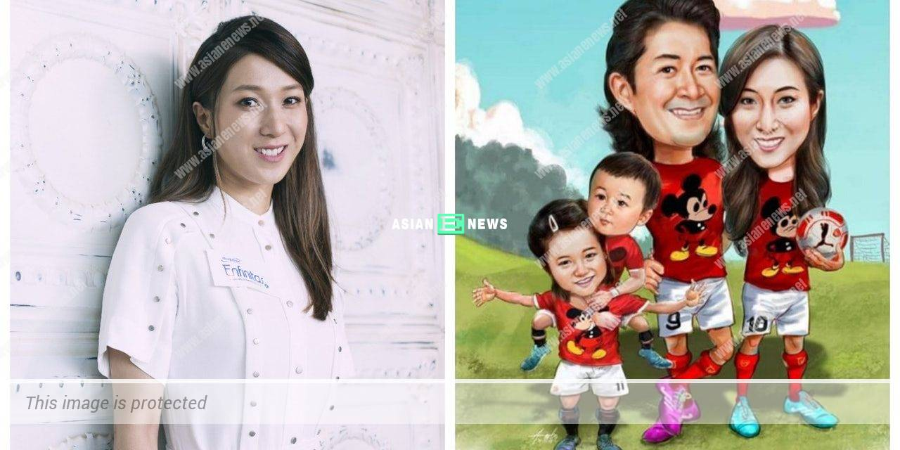 Linda Chung felt happy upon receiving a drawing from her fan