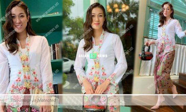 "Linda Chung transformed into a ""Little Nyonya"" in Malaysia"
