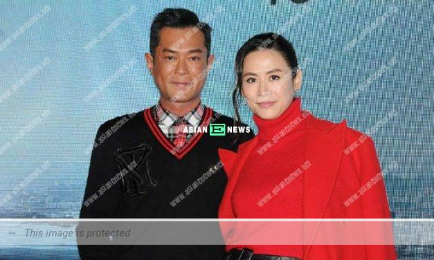 Louis Koo and Jessica Hsuan filmed an advertisement together