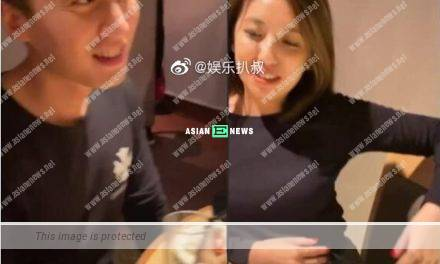Gillian Chung's husband delays the baby plan but has supper with an Internet celebrity?