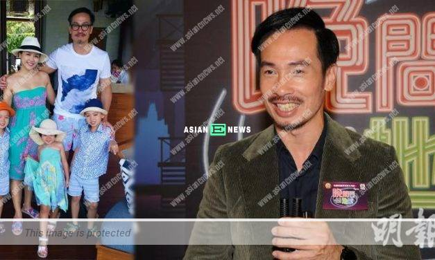 Moses Chan plans to train before showing his swimming trunk