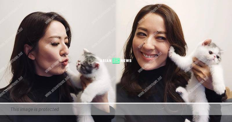 Natalie Tong feels embarrassed when her cat rejects her kiss