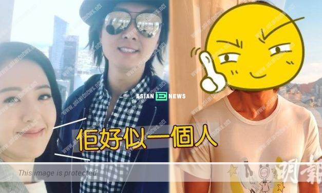 Natalie Tong laughed at Vincent Wong when wearing a hair wig