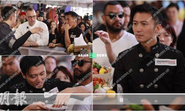 Nicholas Tse organised a food festival in Macau