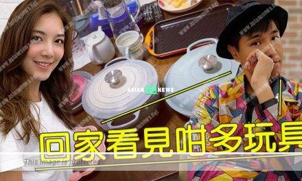Ruco Chan is a lucky man when Phoebe Sin bought many branded kitchenware