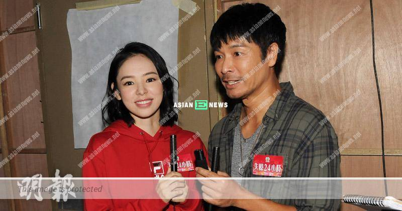 Roger Kwok hoped to have kissing scene with Zoie Tam