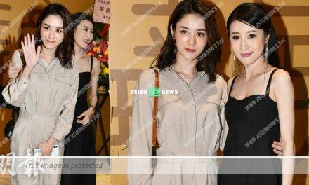 Rosina Lam opens a restaurant; Carina Zhang shows her support