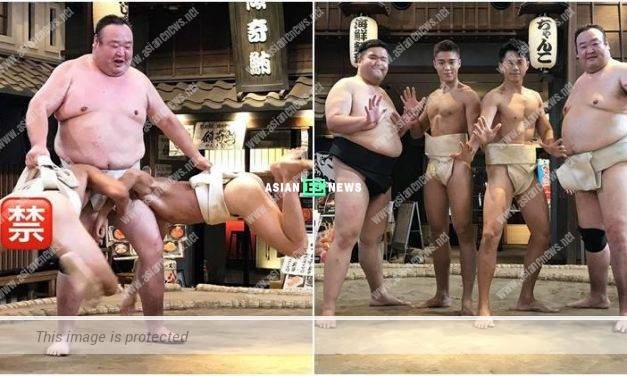 Karl Ting reveals Sammy Leung exposes his bottom during wrestling?