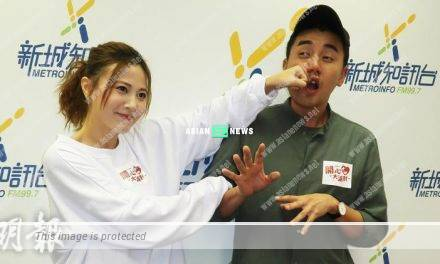 Tony Hung is too daring? Rebecca Zhu is worried when filming kissing scene with him