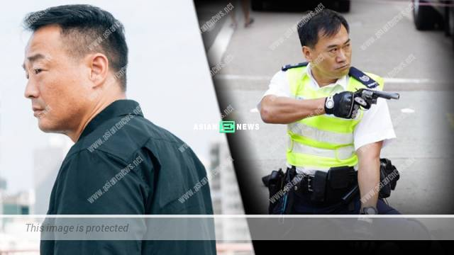 Wong He is furious when the police officer shot the protestor