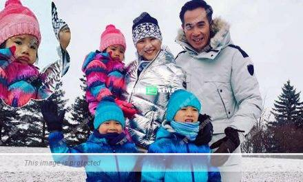 Aimee Chan and her family enjoyed a white Christmas in Toronto